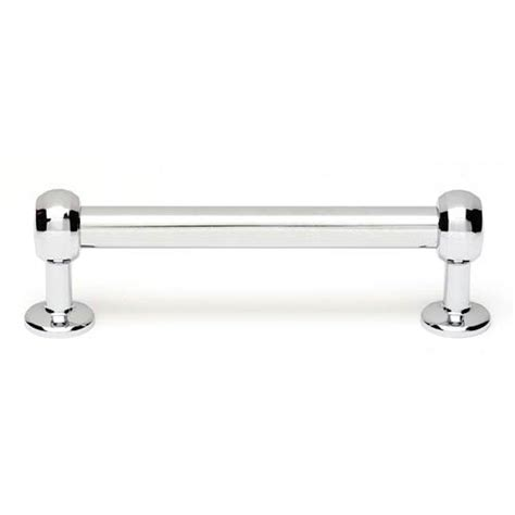 35 Inch Cabinet Pulls Chrome by Polished Chrome Brass 3 1 2 Inch Bar Pull Alno Inc Pulls