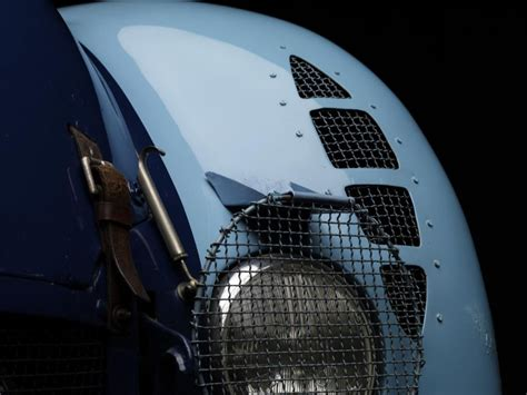 Because of this bugatti type 57g tank sports car had an outstanding aerodynamic body, it could easily achieve higher speeds when compared to most of its competitors' race cars at that time. Bugatti Type 57 G Tank - 1936