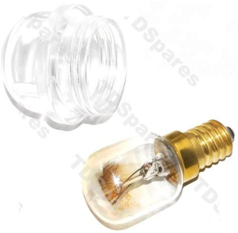 oven light upgrade kit includes 25w bulb and glass lens