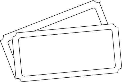 ticket template clip art  clkercom vector clip art