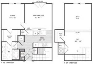 Simple Ranch Floor Plans With Loft Placement by 1 2 And 3 Bedroom Floor Plans Pricing Jefferson