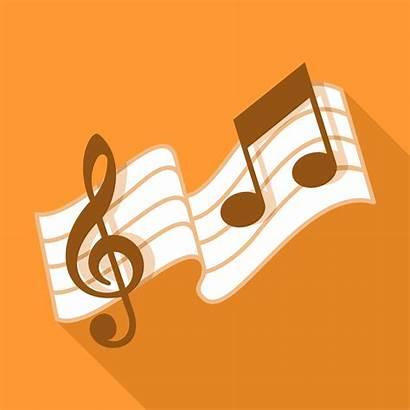 Musical Vector Notation Notes Vectors Song Piano