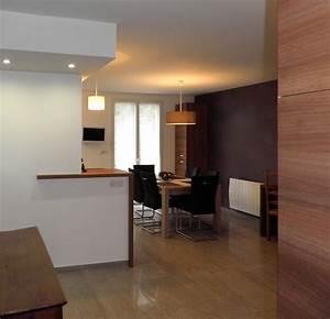 separation cuisine salle a manger esprit loft armentires With separation salon salle a manger