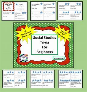 Social Studies Trivia for Beginners---50 Question and ...