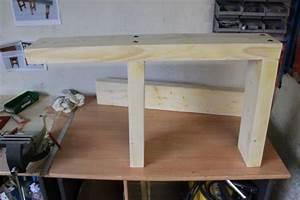 Fabriquer Un établi : brico fabriquer son tabli tape 1 les pieds zone travaux bricolage d coration ~ Melissatoandfro.com Idées de Décoration