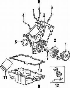 Mercury Tracer Engine Oil Drain Plug