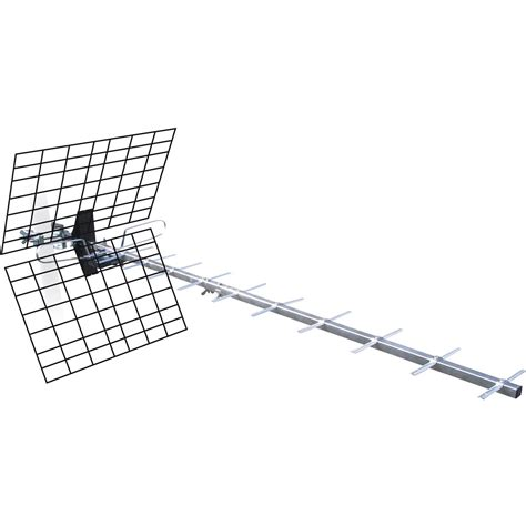 antenne tnt exterieur 45 db antenne tv ext 233 rieure tnt hd metronic 20 db leroy merlin