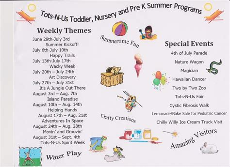 tots n us summer program 139 | summernursery