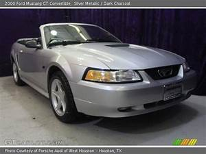 Silver Metallic - 2000 Ford Mustang Gt Convertible