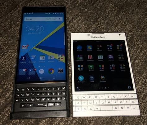 testing the blackberry priv convinced me to buy another passport zdnet