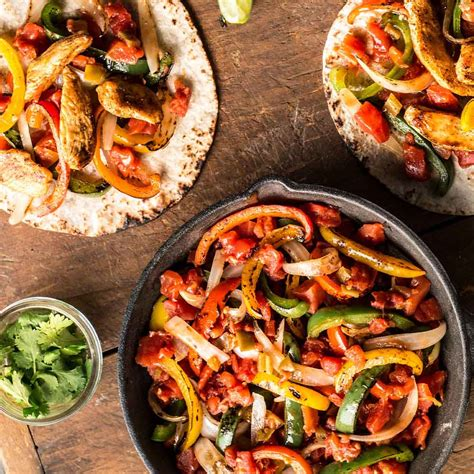 easy chicken fajitas ready set eat