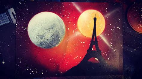 Sprei Eiffel Tower eiffel tower spray paint