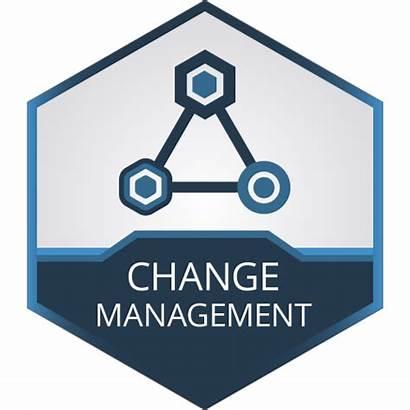 Management Risk Change Clipart Organization Icons Transparent