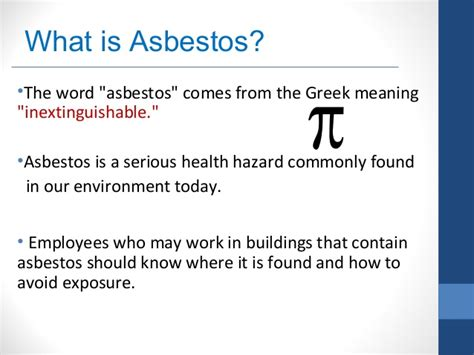 asbestos safety awareness training  mpss