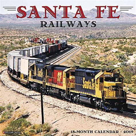 santa fe railway wall calendar train calendars