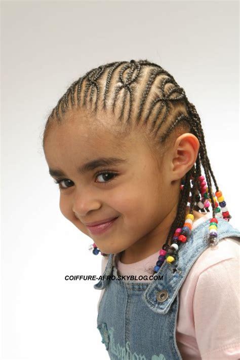 tresse petite fille coiffure black