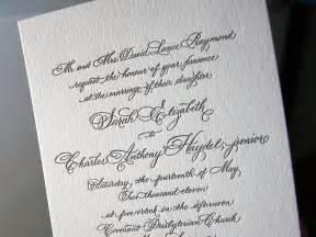 calligraphy wedding invitations classic black white calligraphy wedding invitations