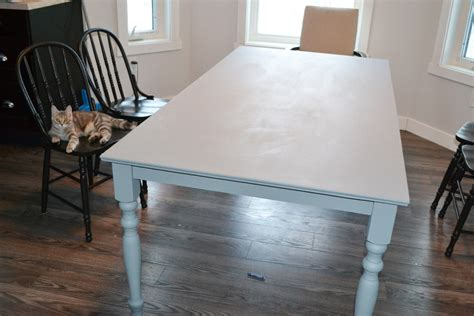 how to paint shabby chic table a shabby chic farmhouse table with diy chalk paint the diy mommy