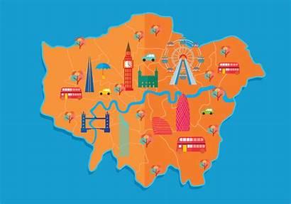 Map London Vector Street
