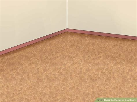 linoleum flooring do not perimeter bond how to remove linoleum 13 steps with pictures wikihow
