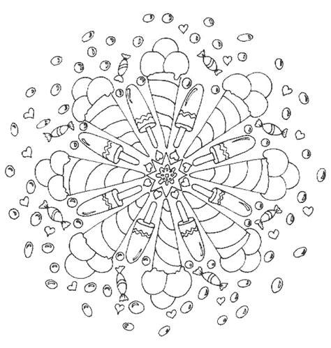 Kleurplaat Mandala Kleuters by Mandala S