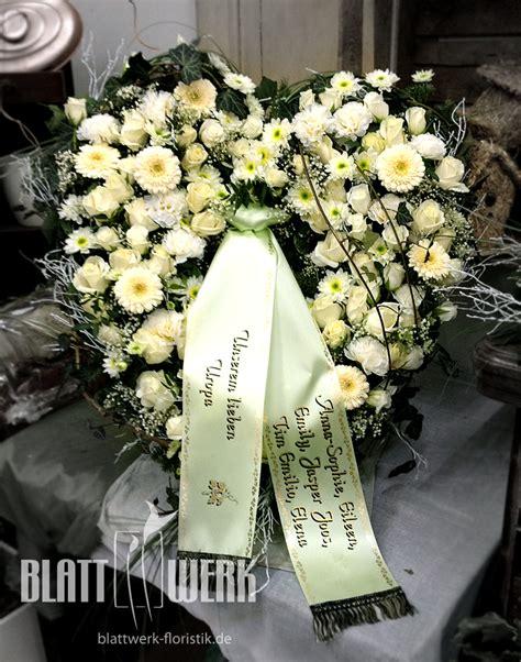 sprüche für trauerschleifen blattwerk floristik blumen und dekoration berlingerode eichsfeld trauerfloristik