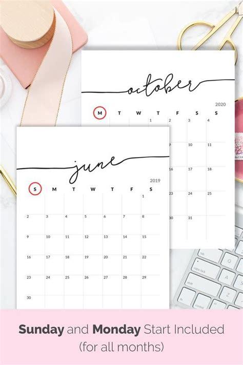 druckbarer kalender   kalender fuer rahmen planer