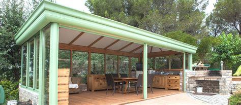 veranda extension cuisine abri piscine salle à manger cuisine d 39 été