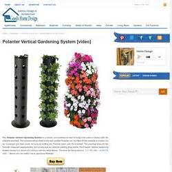 Polanter Vertical Gardening System by Vertical Growing Pearltrees
