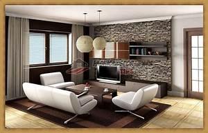 stone wallpaper for living room 2017