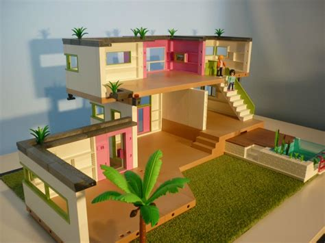 Moderne Haus Playmobil by Luxury Modern Playmobil Villa My Playmobil World
