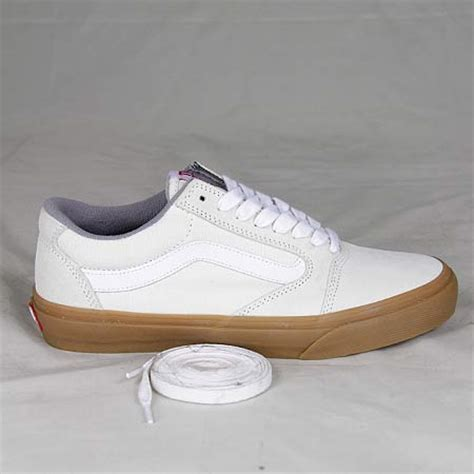 Vans Tony Trujillo TNT 5 Shoes White/ Gum in stock at SPoT Skate Shop