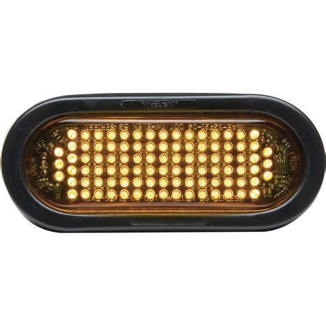 led warning lights whelen 6in oval led warning light lens