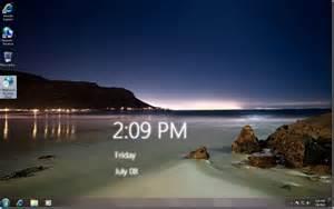 Windows 7 Desktop Clock Download