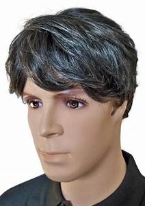 Haarfarbe Schwarz Grau : m nner per cke echthaar schwarz mit grau 39 m004 39 per cken f r m nner ~ Frokenaadalensverden.com Haus und Dekorationen