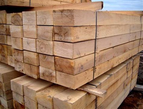 Wooden Sleepers by China New Untreated Railway Wooden Sleepers China Wood