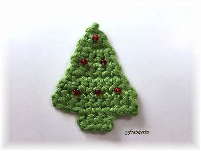 Crochet Sapin Noel Deco Sapins Trees Petits