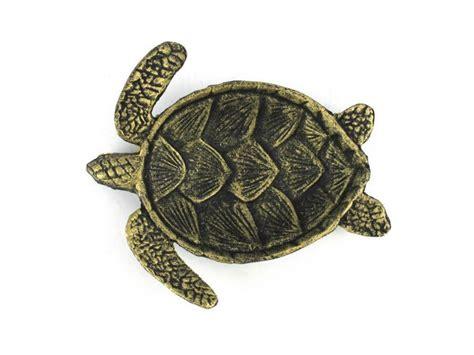 buy antique gold cast iron sea turtle decorative bowl 7 inch