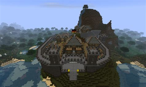 small medieval castle minecraft map