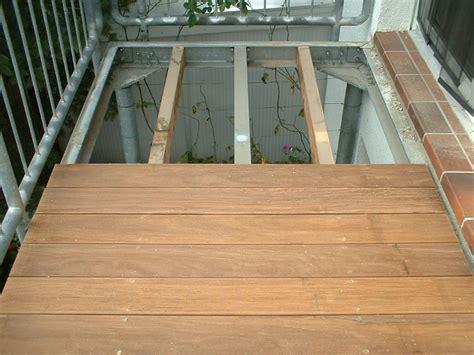 Holzbelag Für Balkon by Balkon Bodenbelag Holz Verlegen Bvrao