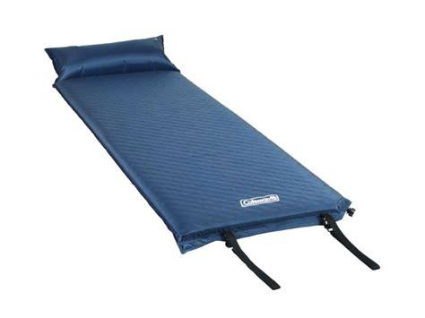 self inflating air mattress coleman self inflating air mattress pillow