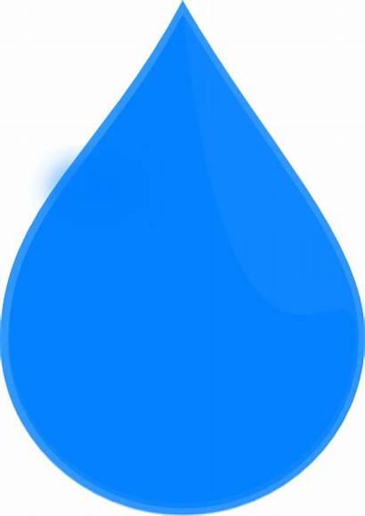 Drop Water Clip Vector Clipart Droplet Droplets