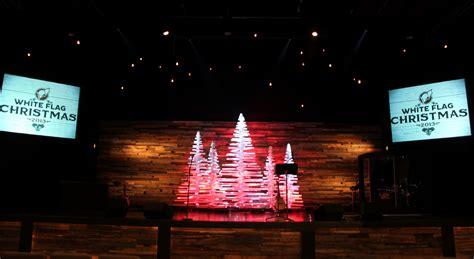 rotating sticks church stage design ideas