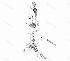 Polaris Atv 2000 Oem Parts Diagram For Gear Selector A00cb32aa