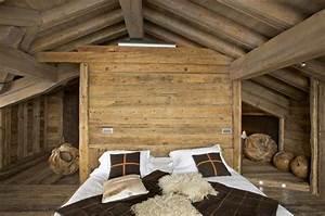 Deco Mur En Bois Planche : el gance alpine d 39 un chalet courchevel galerie photos ~ Dailycaller-alerts.com Idées de Décoration