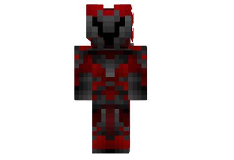 daedric armor red skin mod minecraftnet