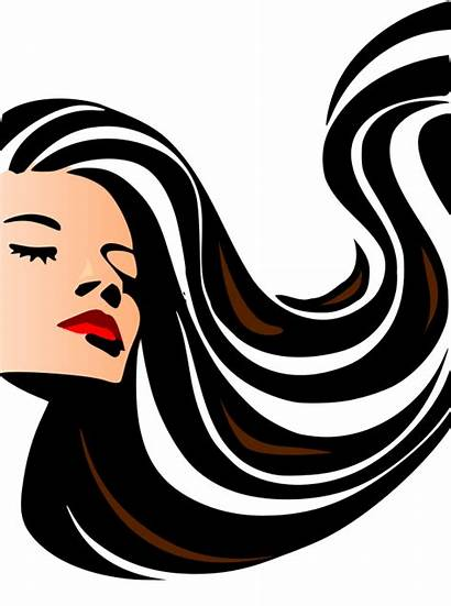 Salon Hair Clipart Clip Cliparts