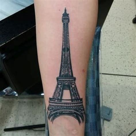 eiffel tower tattoos designs ideas  meaning tattoos