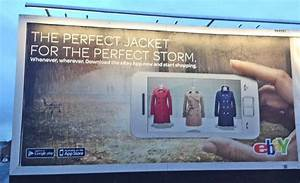 eBay billboards support the new TV ads