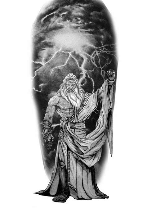 Zeus tattoo | Kol dövmeleri, Savaşçılar, Dövme fikirleri
